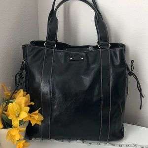 Kate spade xtra large leather carryall tote